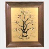 Engraved Family Tree Frame